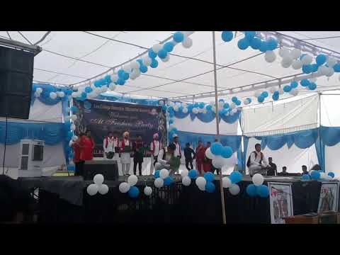 Law college dehradun bhangra on freshers 2017.