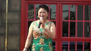 가수 박경숙반갑습니다에버 문화 교류 봉사단 공연