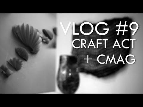 Vlog #9 (OCT 2017) - Craft ACT & CMAG, Canberra Australia
