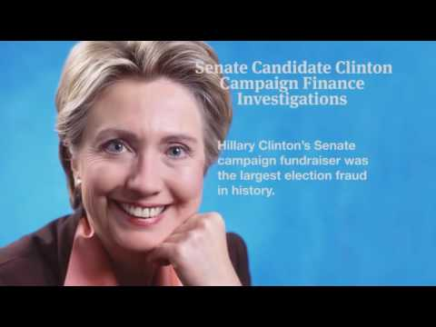 Anonymous Message To Hillary Clinton  A Career Criminal