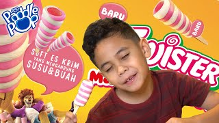 UNBOXING Es Krim Paddle Pop TWISTER MARSHMALLOW! | TheRempongsHD