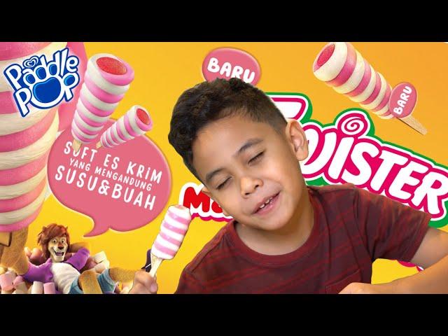 Drama Pesta Es Krim Paddle Pop Twister Marshmallow!! | TheRempongsHD