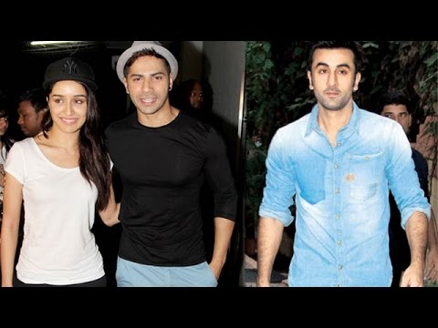 Varun Dhawan And Shraddha Kapoor Have Fun On Sets Of Reality Show | Planet Bollywood News