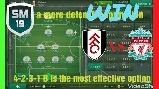 BEST TACTICS to use in every situation on Soccer Manager 19 - With PROOF