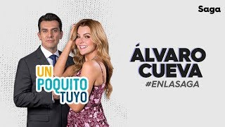#ÁlvaroCuevaEnLaSaga con Marjorie de Sousa y Jorge Salinas #UnPoquitoTuyo
