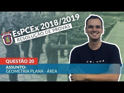 Prova ESPCEX 2018/2019 - Questão 20