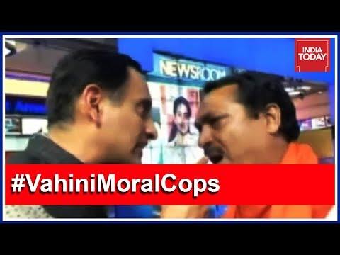 Rahul Kanwal Shows Door To Hindu Yuva Vahini Chief After Fiery Debate
