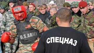 Армия США против Aрмии России / USA army vs. Russian army