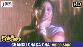 Kokila Telugu Movie Songs | Changu Chaka Cha Video Song | Shobana | Naresh | Divya Media