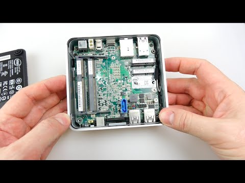 Assembling an Intel NUC Mini PC - i5 D54250WYK