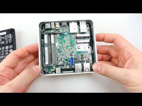Assembling an Intel NUC Mini PC - i5 D54250WYK - YouTube