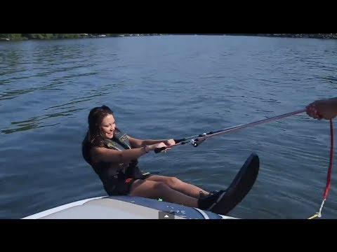 Hydro Chair Water Ski Big Tall Drafting Lori S Learned How To Air Hydrofoil For The First Time