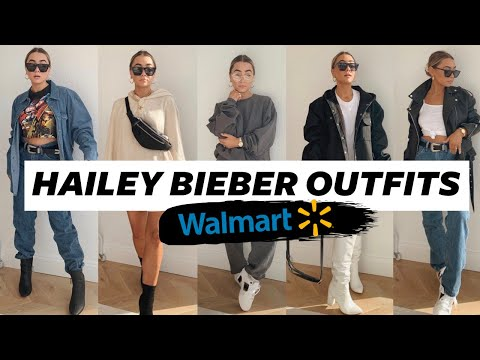 RECREATING HAILEY BIEBER'S OUTFITS AT WALMART! Julia Havens