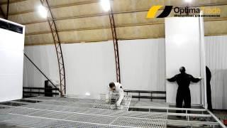 Монтаж покрасочной камеры. Компания Оптима Трейд(, 2014-12-15T08:01:15.000Z)