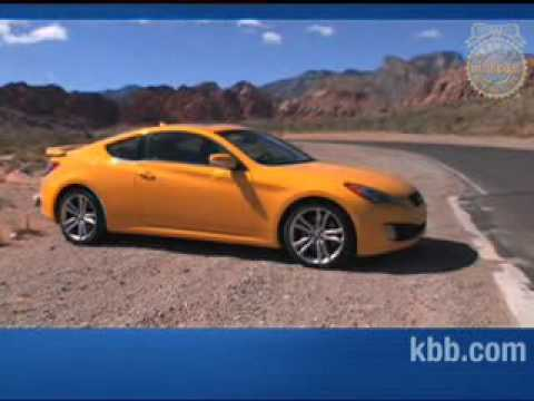 2010 hyundai genesis coupe review kelley blue book youtube. Black Bedroom Furniture Sets. Home Design Ideas