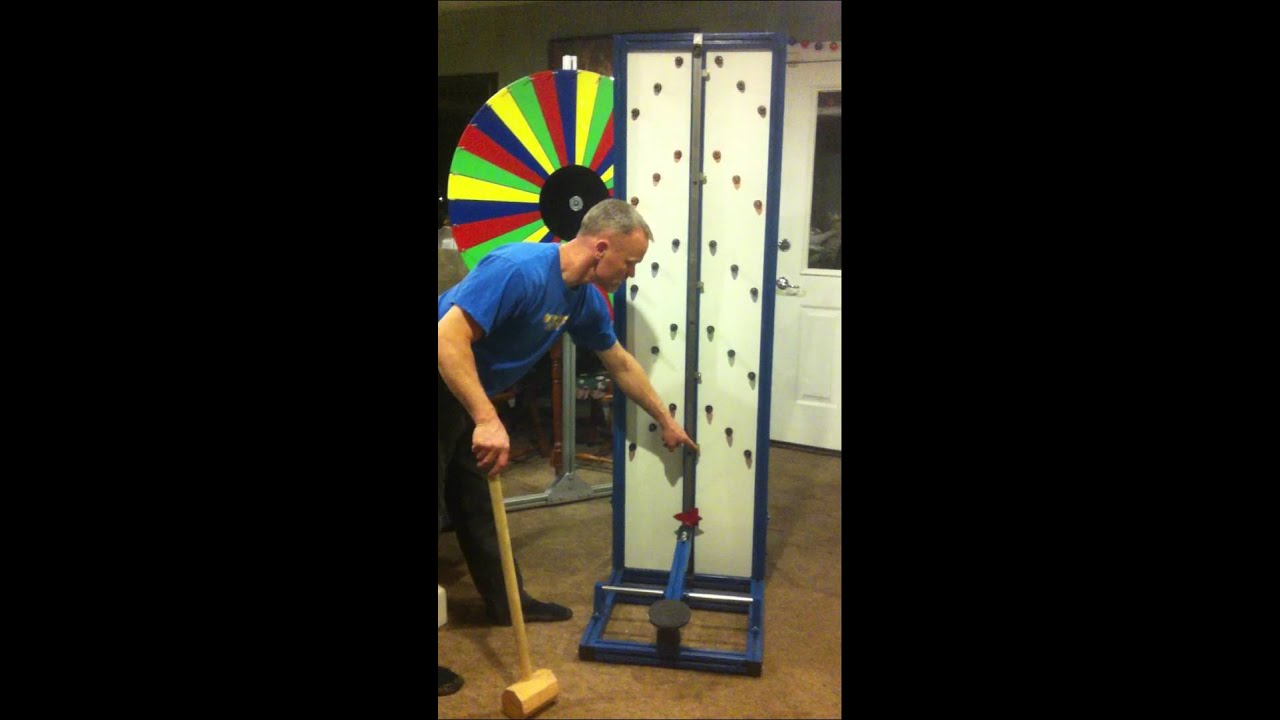 Home Made Strongman Carnival Game Youtube