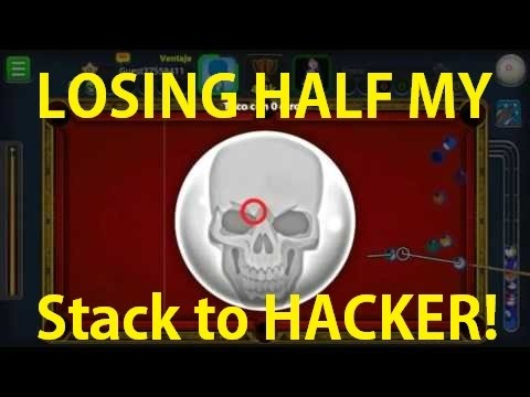 Lost Half My Stack To HACKER! 8 Ball Pool :(