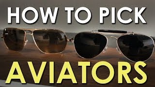 How to Pick Aviator Shades | The Art of Manliness