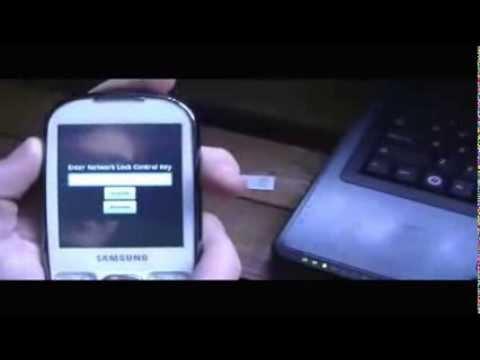 How to Unlock Samsung i5500 (Galaxy 5 / Galaxy 550 / Galaxy Europa) - Network Lock Control Key