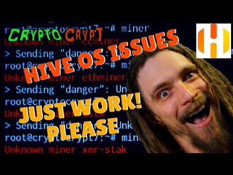 Hive OS Mining Setup - Noob Troubles - Unknown Miner - WHY WONT YOU WORK!