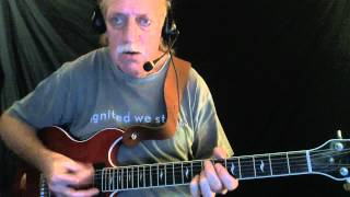 "How to Play ""Shaky Ground"" - Blues Guitar Lesson - Red Lasner"