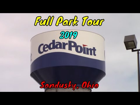 Cedar Point Full Tour  - Sandusky, Ohio