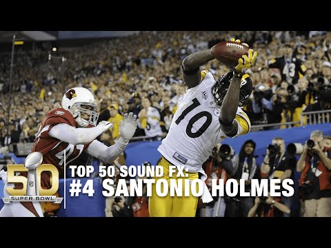 Top 50 Sound FX | #4: Santonio Holmes TD Catch! | NFL