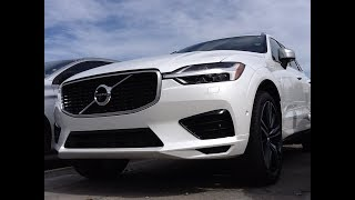 Park Assist Pilot of 2018 Volvo XC60 T8 R-Design fully ENGAGED!