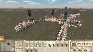 """Equal Free For All"" - Rome Total War online battle"