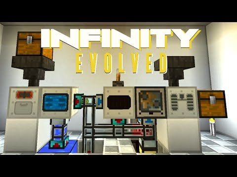 Minecraft Mods FTB Infinity Evolved - AUTOMATIC FUEL RODS [E26] (Modded Expert Mode)