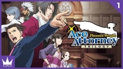 Twitch Livestream | Phoenix Wright: Ace Attorney Part 1 [Xbox One]