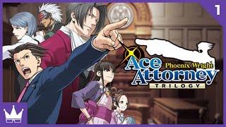 Twitch Livestream | Phoenix Wright: Ace Attorney Part 1 [Xbox One]