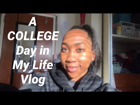 A COLLEGE Day In My Life Vlog |St. John's University