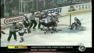 Video 1997 Playoffs - Red Wings @ Avalanche Game 1 download MP3, 3GP, MP4, WEBM, AVI, FLV November 2017