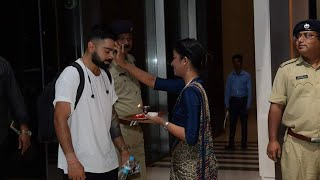 India vs West Indies team Arrival in hotel Radisson blue guwahati