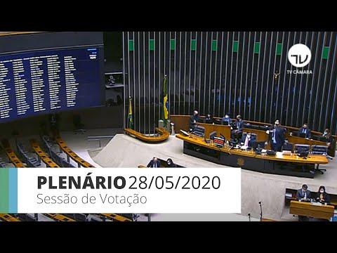 Plenário aprova MP que altera regras trabalhistas durante pandemia - 28/05/20