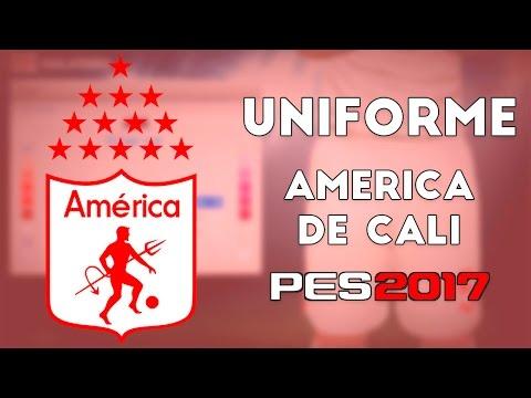 Pes 2017 Uniformes América De Cali 17 Youtube