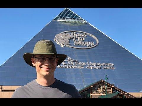Pyramid Bass Pro Shops Megastore In Memphis | Camper Van Life S1:E52