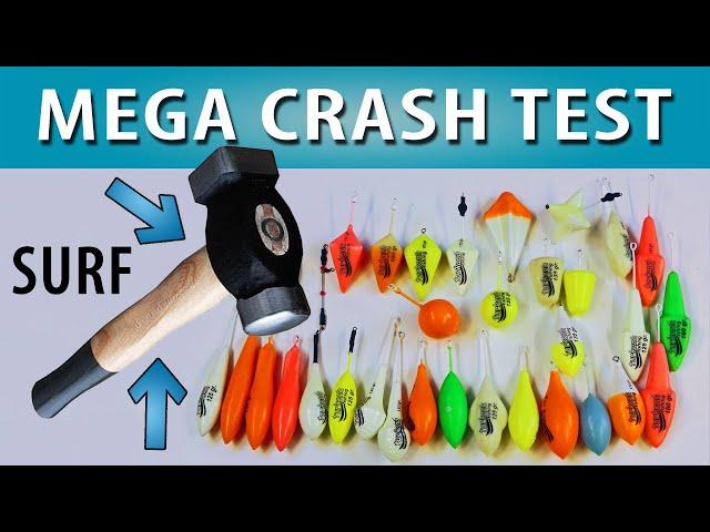 TEST③ Mega CRASH TEST ciężarków ★ wytrzymałość farby ★ najlepsza firma ★ betoniarka ★ otoczaki