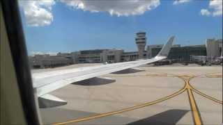 American Airlines Boeing 757 MCO-MIA Part 8 of 9, Taxi to the gate