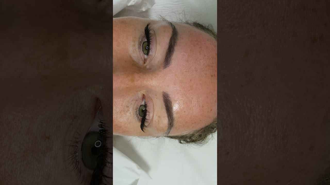 Healed Microblading 3d Realism after 1 session by El Truchan @ Perfect Definition