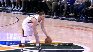 Gordon Hayward Rim Rocking Dunks in Utah l 11.25.16