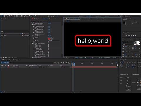 TextBorder - aescripts + aeplugins - aescripts com