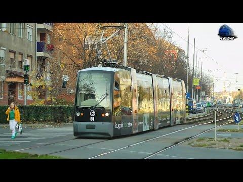 Tramvai Siemens ULF Tram/Straßenbahn & Tatra T4D-B4D in Oradea - 23 November 2016