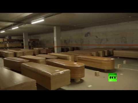 برشلونة.. تحويل موقف السيارات إلى مخبأ للمقابر  - نشر قبل 3 ساعة