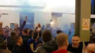 Leicester Fans before the Doncaster game - 3rd May 2014