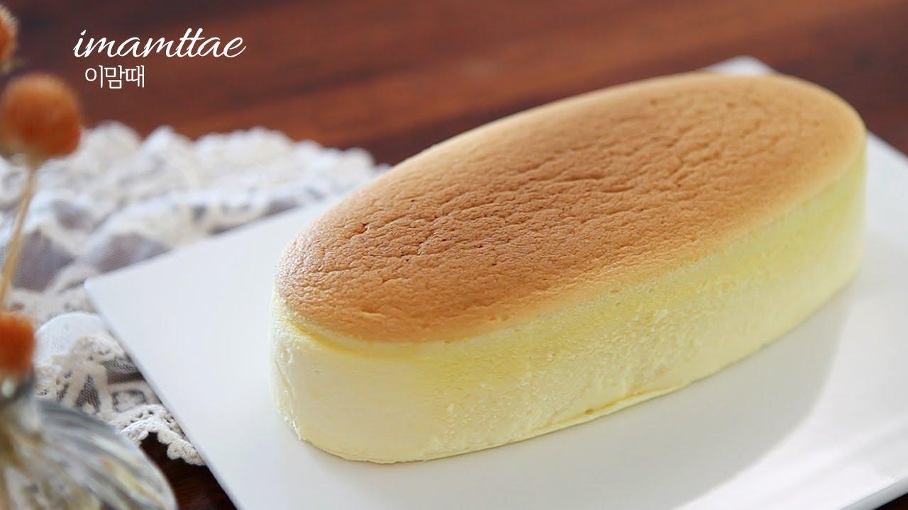 (SUB)🧀수플레치즈케이크 : 극강촉촉!부드러운코튼치즈케익 : Souffle Cheesecake Recipe