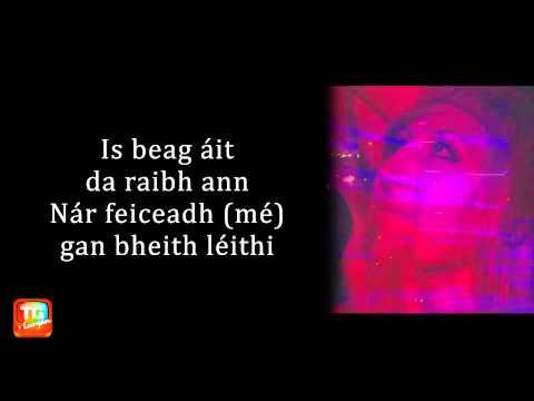 Don't you worry child le Swedish House Mafia as Gaeilge