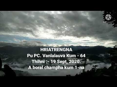 Pu Vanlalauva Boral Champha Kum Khatna Hla Thlan.