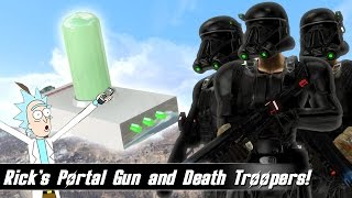 Fallout 4 Mods Week 49 - Rick s Portal Gun and Death Troopers